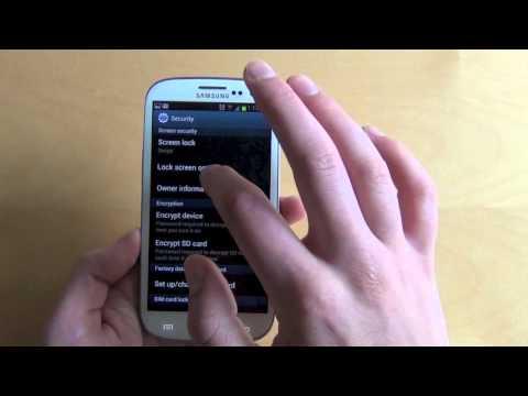 Samsung Galaxy S3:  TouchWiz Overview