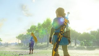 9 Minutes of New Zelda: Breath of the Wild Open-World Gameplay - Treehouse Live