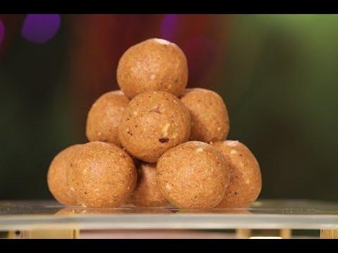 Atta Besan Laddoo   Diwali Special Recipe   Sanjeev Kapoor Khazana