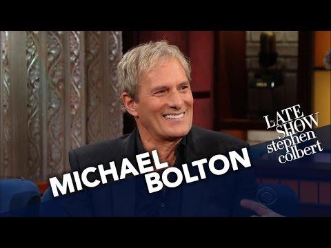 Michael Bolton Loves Music, Comedy And... Teaching Softball?