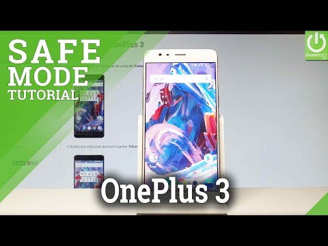 Safe Mode OnePlus 3 - Open & Exit OnePlus Safe Mode
