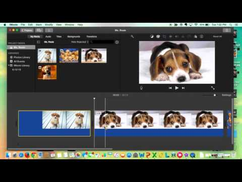 Trimming your iMovie Clip