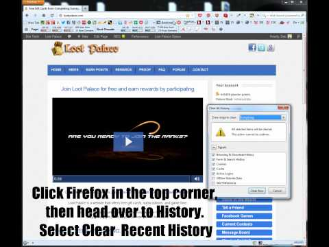How to Clear your Browser Cookies in Mozilla Firefox