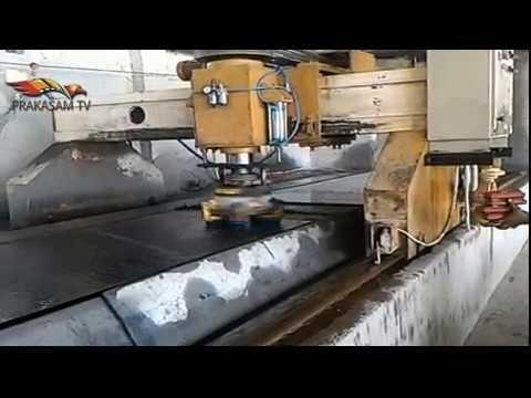 How to cut Granite stone and Polish