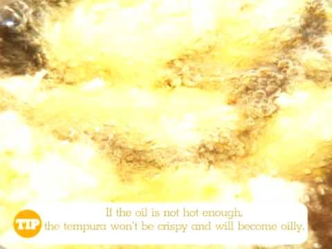 Japanese Cooking Recipe: Shrimp Tempura from Lobo (Japanese Food) www.lobo.co.th