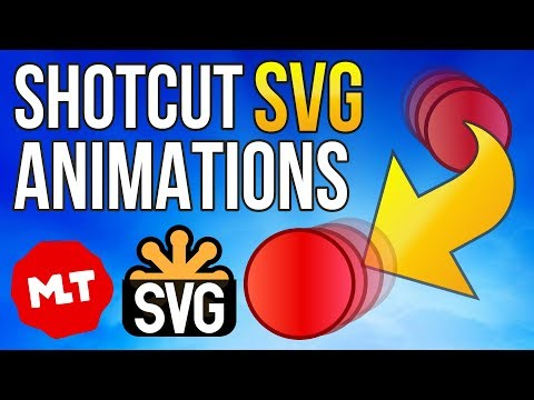 SVG Animation Import Tutorial for Shotcut (Free Video Editor)