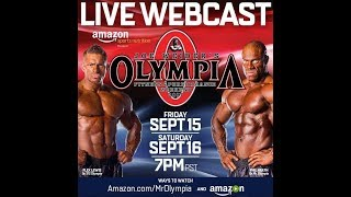 Olympia 2017 Live Webcast