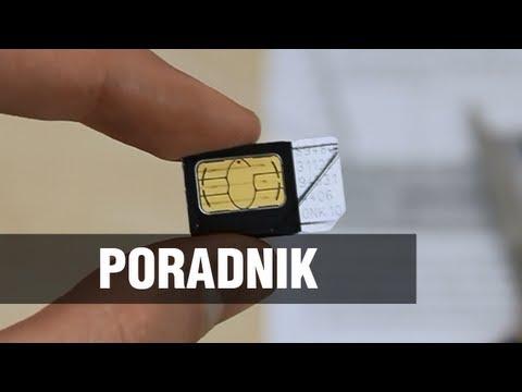 Jak zmniejszyć kartę SIM do Micro/Nano SIM?