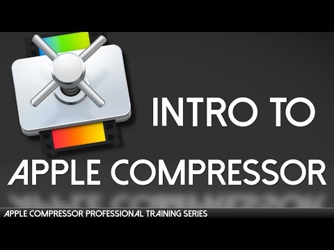 Apple Compressor Professional Training