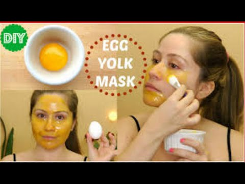 How to Make an Amazing Egg Facial Mask | Egg yolk face mask
