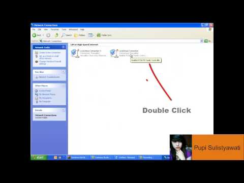 Video Tutorial Cara setting IP Adress di Windows XP