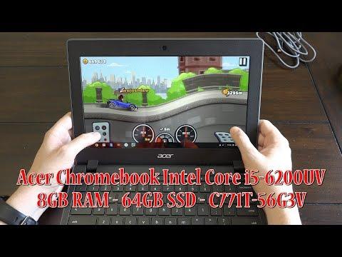 Acer Chromebook 11 i5 8GB RAM 64GB SSD (C771T-56G3)