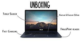 Royal Blue Asus Zenbook 13 UX331UN-WS51T Laptop Unboxing & First Impressions | SO SLIM!!!