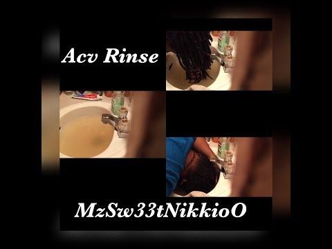 ACV Rinse on my freeform locs!!!!