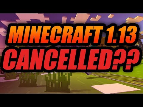 WHAT IS HAPPENING TO MINECRAFT 1.13?? - MINECRAFT JAVA EDITION UPDATE AQUATIC UPDATE SOON?