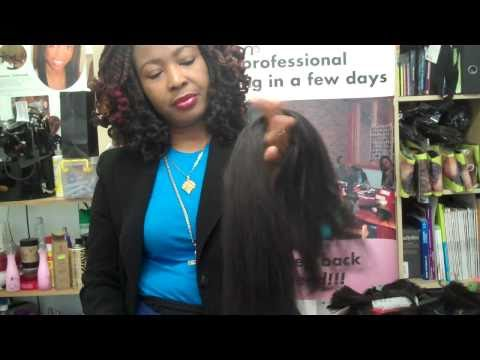Pulling & Preparing Xpressions /Kanekalon Extensions for natural Feathered tips