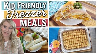 Download Kid Friendly & Budget Friendly EASY FREEZER MEALS Video