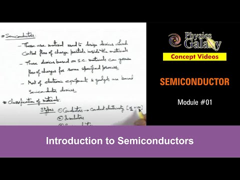 1. Class 12 Physics | Semiconductor & its Types | Introduction to Semiconductors