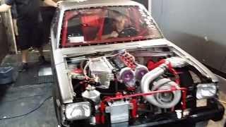 Toyota Mr2 3SGTE 1000hp PSI Racing Drag Starlet