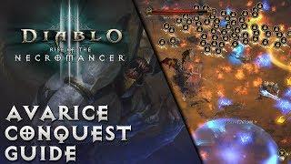 Diablo 3 - Avarice Conquest - Easiest Method - 50 million Gold