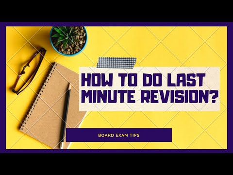 8 Effective Revision Tips For Students | Last Minute Revision | Exam Tips | LetsTute