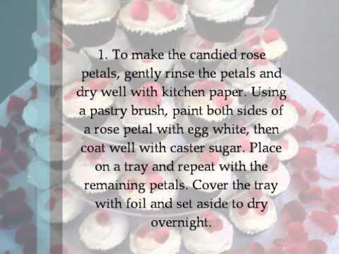 Cupcake Ideas: Rose Petal Cupcakes