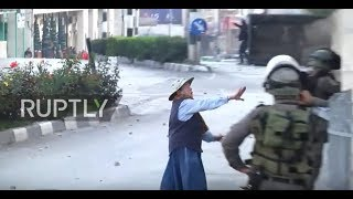 State of Palestine: Fearless grandma puts herself between Israeli bullets and protesters