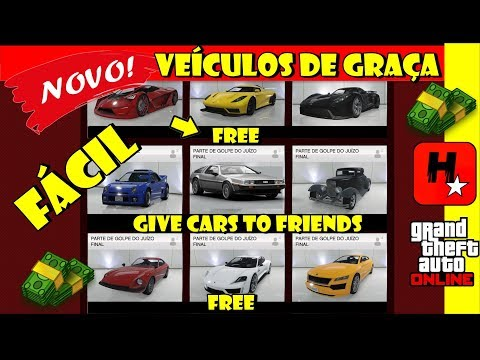 GTA 5 COMO DAR VEÍCULOS PESSOAIS AOS AMIGOS! (MONEY GLITCH) COMO PEGAR QUALQUER CARRO DE GRAÇA GTA !