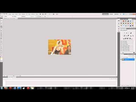 Photoshop CS5 - Making an icon