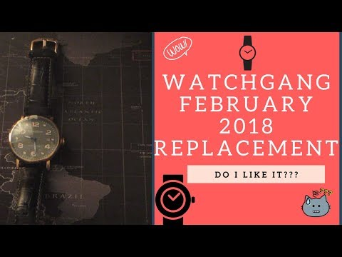 Watchgang February 2018 Black Tier Replacement Watch