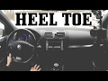 How I Heel Toe Downshift (MkV GTI)