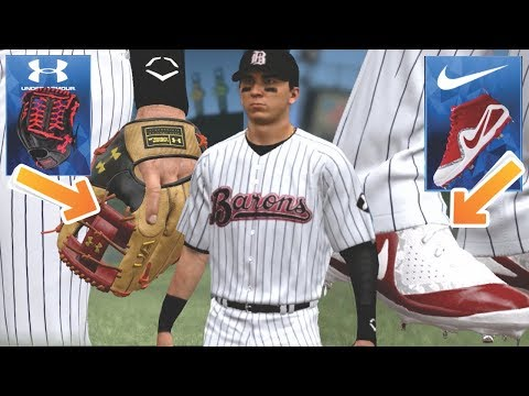 BUYING ALL DIAMOND EQUIPMENT BEFORE DEBUT! MLB The Show 18 Road To The Show