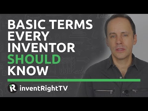 Basic Terms Every Inventor Should Know