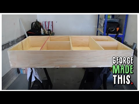 How-To Make This Under Bed Dolls House! - George Made This.