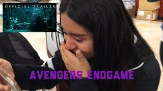 Download Avengers: Endgame Trailer Reaction Video