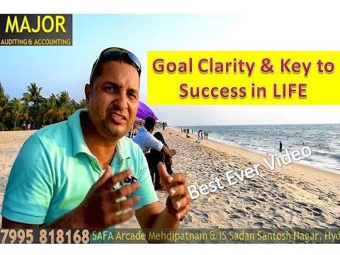 Goal Clarity & Success in Life