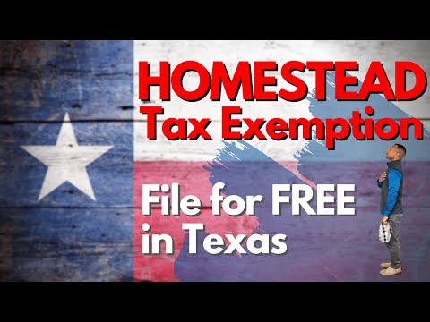 How To File Tax Homestead Exemption 2018