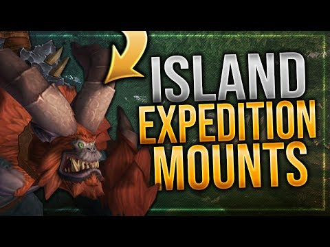 Island Expedition Mounts   Ingame Preview   Battle for Azeroth!