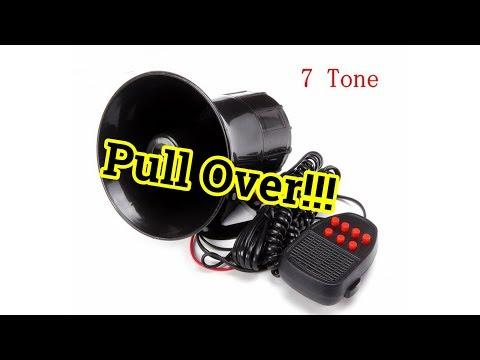 Police Siren Install - MATCC 7 Tone Car Horn Siren - Aftermarket Horn Install
