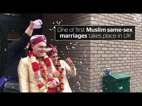 Xxx Mp4 One Of First Muslim Same Sex Marriages Takes Place In UK 3gp Sex