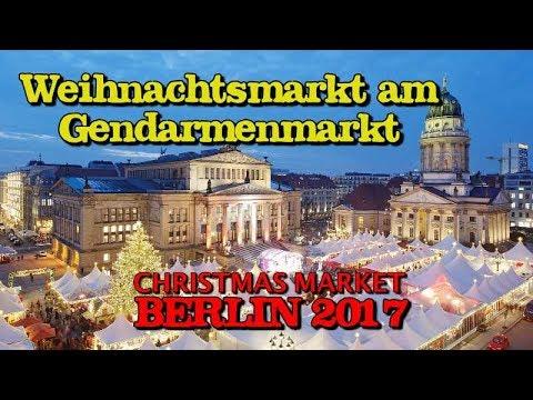 Weihnachtsmarkt am Gendarmenmarkt | Christmas Market | Berlin 2017