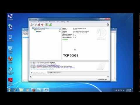 [S1.1] TeamSpeak 3 Server - Windows Installation and Config Basics