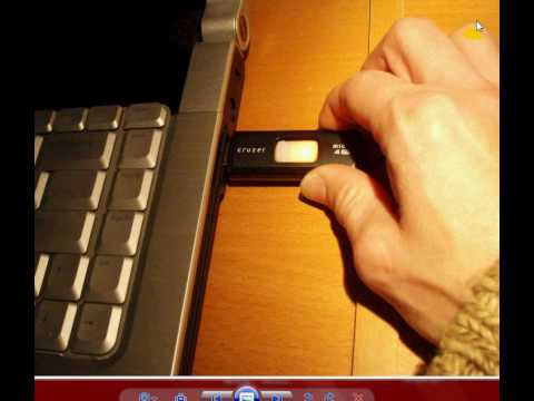 Inserting Using and Ejecting a USB flash drive