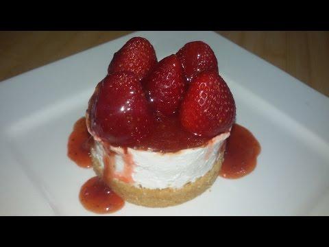 No Bake Strawberry Cheesecake Recipe - Make It Easy Recipes