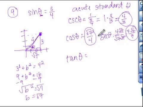 9 3 Right Triangle Trigonometry