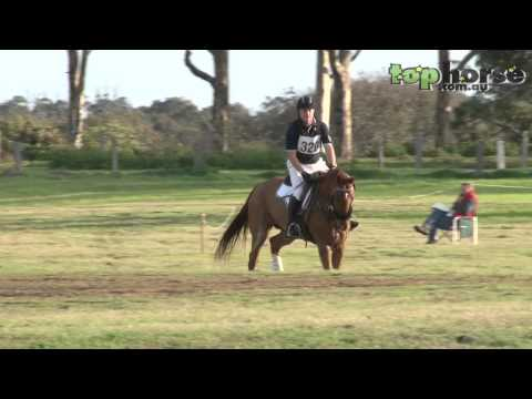 Eventing - How to ride the perfect cross country course.
