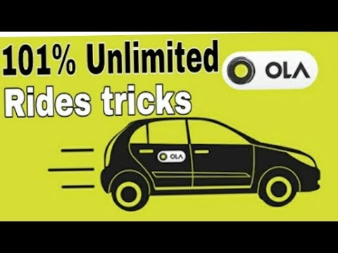Ola unlimted ride trick 100% working 2018