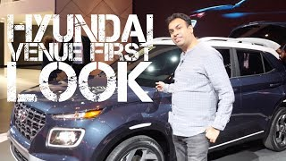 Hyundai Venue Launched in New York First Look Coming to India