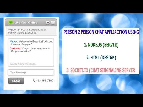 Chat Application Using Node.js And Socket.io in hindi part 3