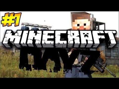 Minecraft: DayZ Let's Play (Episode 1) | THE STRUGGLE!
